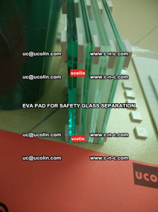 EVA PAD glass cork pad for safety laminated glass delivery (10)