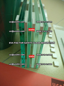 EVA PAD glass cork pad for safety laminated glass delivery (15)