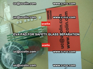 EVA PAD glass cork pad for safety laminated glass delivery (40)