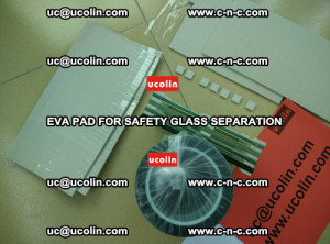 EVA PAD glass cork pad for safety laminated glass delivery (55)