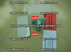 EVA PAD glass cork pad for safety laminated glass delivery (70)