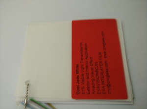 Cool Jade White Ethylene Vinyl Acetate Copolymer EVA interlayer film for laminated glass safety glazing (20)