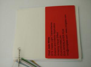 Cool Jade White Ethylene Vinyl Acetate Copolymer EVA interlayer film for laminated glass safety glazing (21)