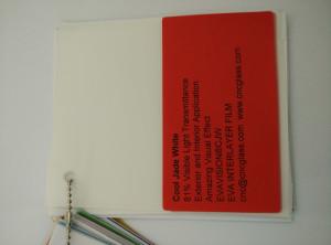 Cool Jade White Ethylene Vinyl Acetate Copolymer EVA interlayer film for laminated glass safety glazing (22)