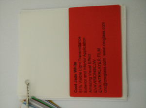 Cool Jade White Ethylene Vinyl Acetate Copolymer EVA interlayer film for laminated glass safety glazing (23)