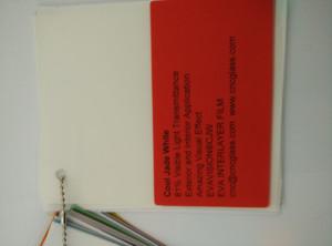 Cool Jade White Ethylene Vinyl Acetate Copolymer EVA interlayer film for laminated glass safety glazing (24)