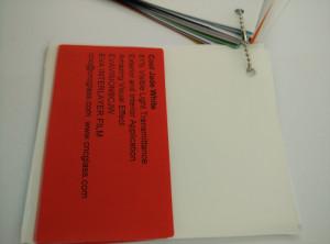 Cool Jade White Ethylene Vinyl Acetate Copolymer EVA interlayer film for laminated glass safety glazing (28)