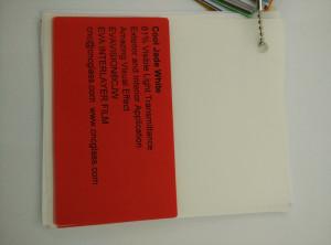 Cool Jade White Ethylene Vinyl Acetate Copolymer EVA interlayer film for laminated glass safety glazing (35)