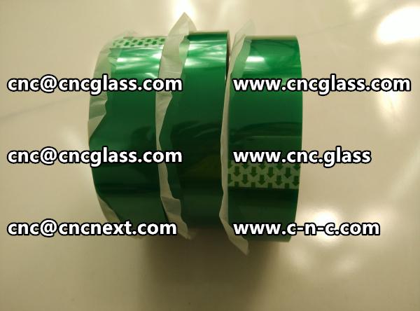 SAFETY GLAZING PET GREEN TAPE (3)